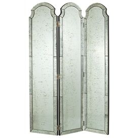 Isabella Mirrored Room Divider, Arteriors