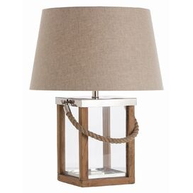 "Tate 25.25"" H Table Lamp with Empire Shade"