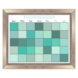Framed Calendar Board in Green