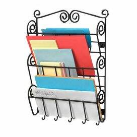 Wall-Mount Mail Organizer