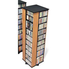 Deluxe Spinning 4-Sided Multimedia Revolving Tower