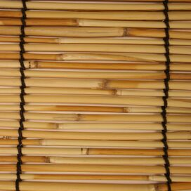 Bamboo Roll-Up Blind in Natural