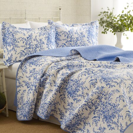 Laura Ashley Bedford Blue Quilt Laura Ashley Bedford Quilt Set