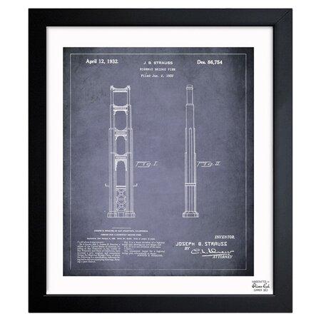 Golden Gate Bridge Framed Print, Oliver Gal