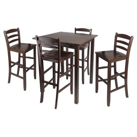 5 Piece Parkland Counter Height Dining Set Ec Dining
