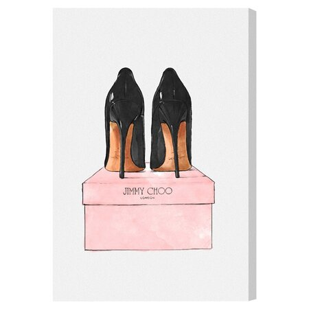 Night Out Stilettos Canvas Print, Oliver Gal