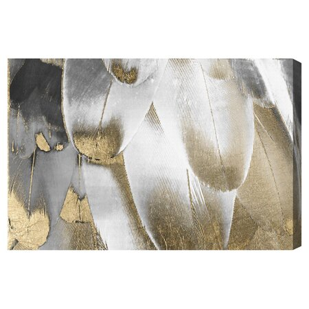 Royal Feathers Canvas Print, Oliver Gal