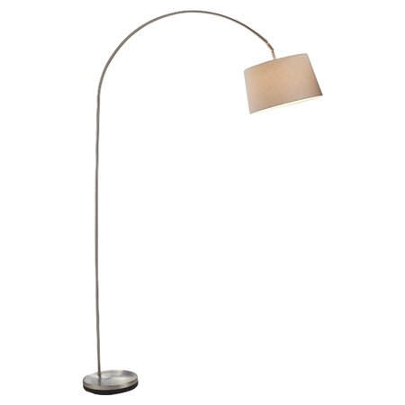 """Henry 83"""" Arched Floor Lamp"""