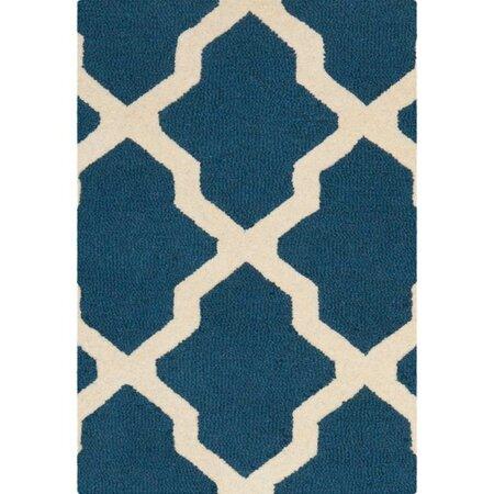 Adrian rug in navy blue best selling rugs on joss main for Best selling rugs