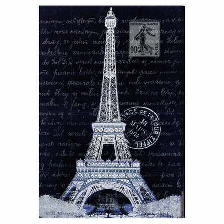 Eiffel Thoughts Night Canvas Print, Oliver Gal