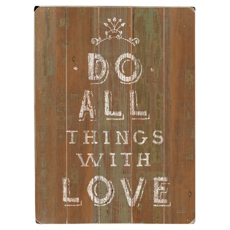 Do All Things Wall Decor