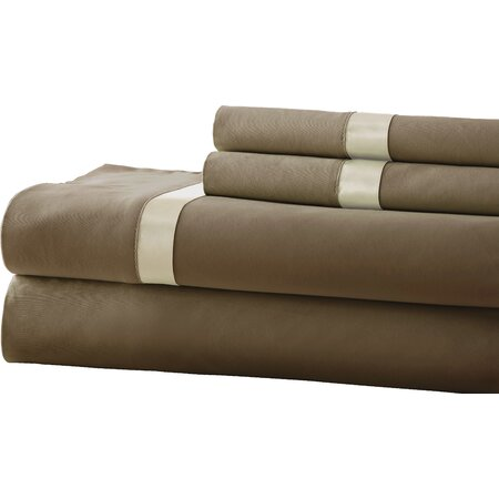 400 Thread Count Egyptian Cotton Sheet Set in Mocha