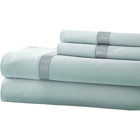 400 Thread Count Egyptian Cotton Sheet Set in Teal
