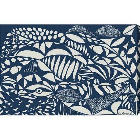Sea Bottom Canvas Print, Oliver Gal
