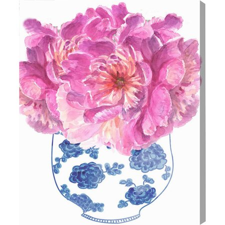 Morning Peonies Canvas Print, Oliver Gal