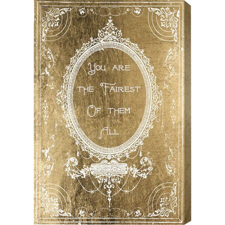 The Fairest Gold Canvas Print, Oliver Gal