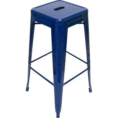 Galaxy Counter Stool In Navy Set Of 2 Ec Bar