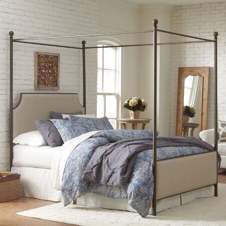 Williston Upholstered Canopy Bed