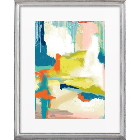 Deconstructed Landscape Framed Print, Artfully Walls