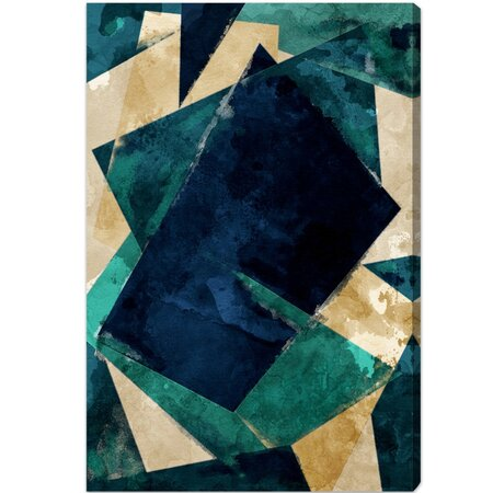 Abstracta Dos Canvas Print, Oliver Gal