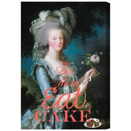 Eat Cake Canvas Print, Oliver Gal