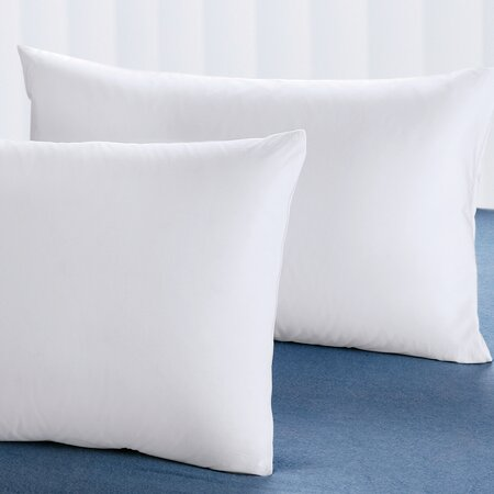 Cuddledown Cotton Pillow Protector Set (Set of 2)