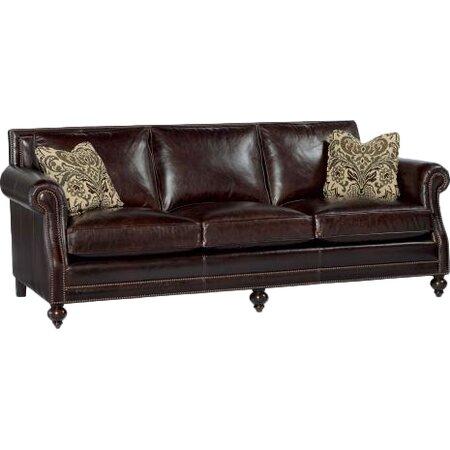 Brae 92 5 Leather Sofa Bernhardt Furniture On Joss Main