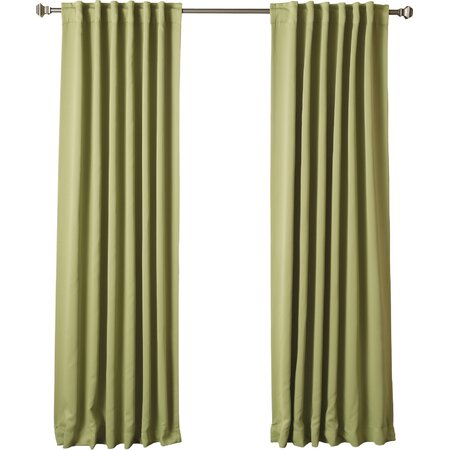 Thermal Insulated Blackout Curtain Panel in Sage (Set of 2)