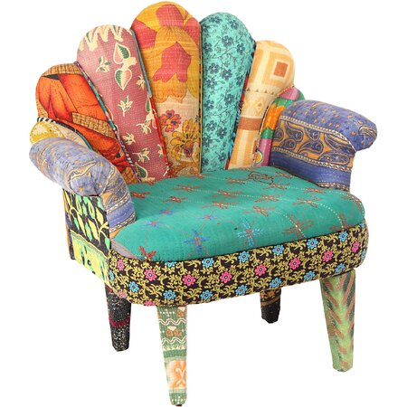 Cora Peacock Accent Chair Style Spotted on Joss & Main
