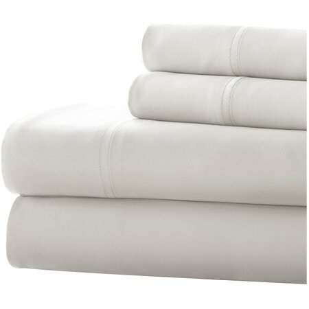 300 Thread Count Sheet Set in Whit