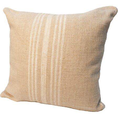 Hobie Reversible Pillow in Ivory