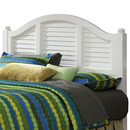 Bermuda Panel Queen Headboard In White The Beach House