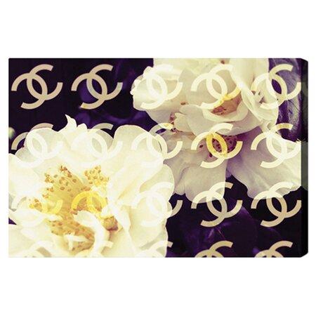 Coco's Camellia Canvas Print, Oliver Gal