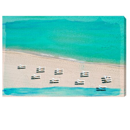 Dream Beach Canvas Print, Oliver Gal