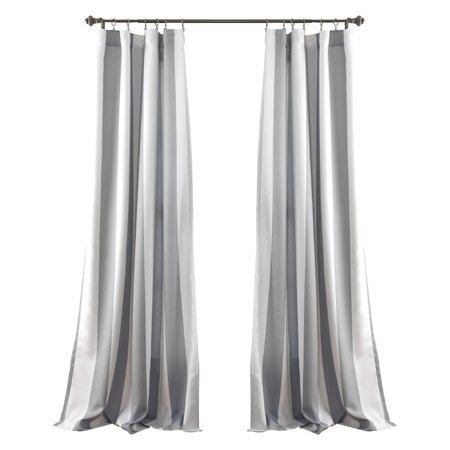 Stripe Blackout Ring Top Curtain Panel (Set of 2)