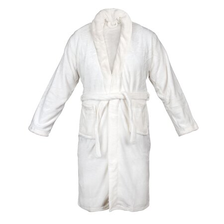 Flannel Bath Robe