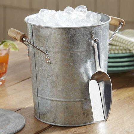 3-Piece Somerville Ice Bucket & Scoop Set