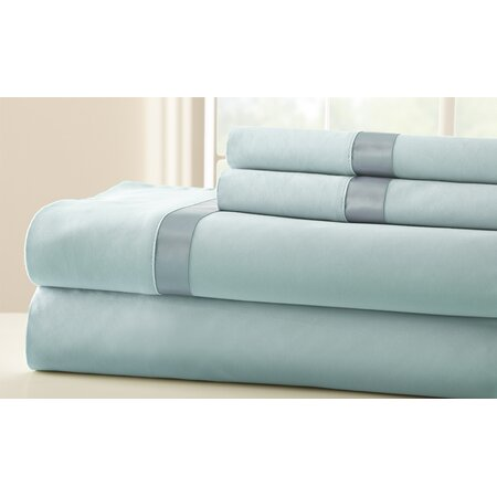 400 Thread Count Egyptian Cotton Sheet Set in Sterling Blue