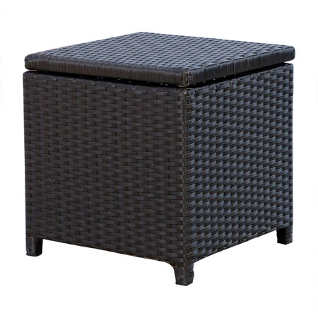 Carlsbad Patio Storage Ottoman