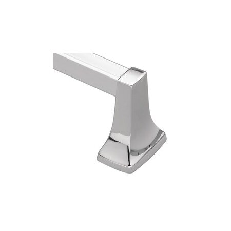 Wall-Mounted Towel Bar in Chrome