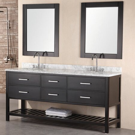 London Bathroom Vanity Set in Espresso