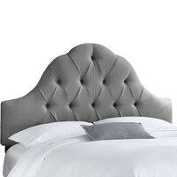 Melonie Custom Headboard in Gray