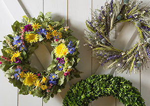 Summer Wreaths & Blooms