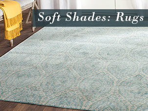 Soft Shades: Rugs