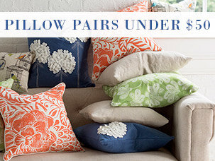 Pillow Pairs Under $50