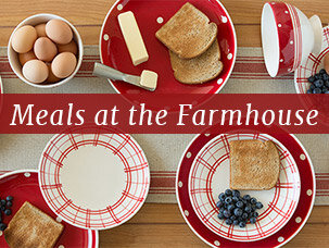 Meals at the Farmhouse