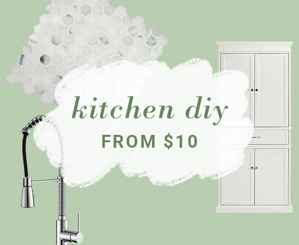 Kitchen DIY from $10