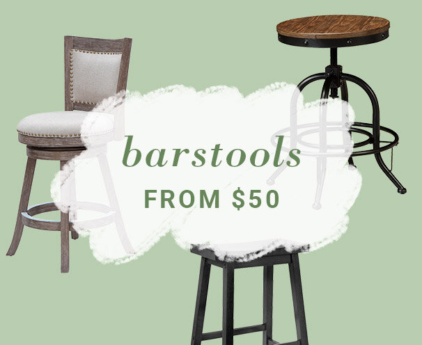 Barstools from $50