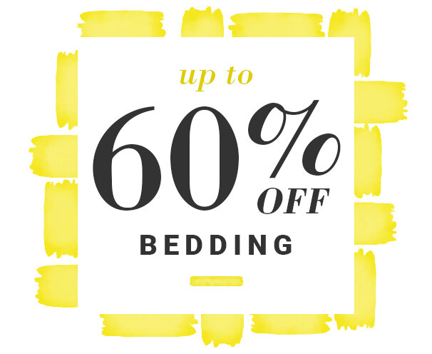Bedding Up to 60% Off