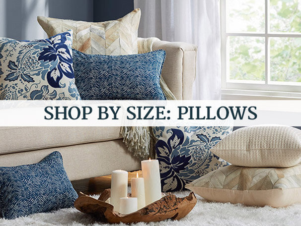 Shop by Size: Pillows